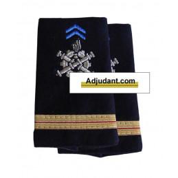 Fourreaux d'épaules militaire du Matériel Adjudant